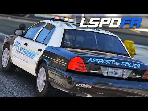 LSPDFR E156 - Drugs on the Runway | Airport Police CVPI