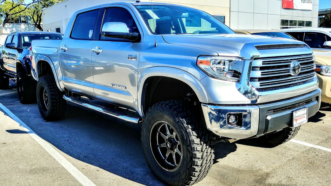 2018 Toyota Tundra Limited 4x4 Lifted Youtube