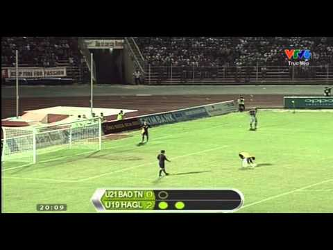 Penalty U19 HAGL (U19 Viet Nam) - U21 Viet Nam ngay 25/10/2014