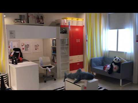 ИКЕА шикарная Детская комната в 36 кв.м. #Ikea