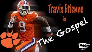 Clemson film study: RB Travis Etienne is the F