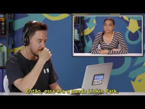 Reação do Mike Shinoda ao assistir Teens React: Linkin Park Legendado