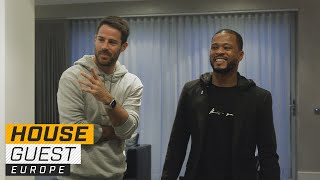 Jamie Redknapp's Family-Friendly Home | Houseguest With Patrice Evra | The Players' Tribune