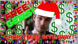 Clash of Clans - Christmas Giveaway!  FREE GEMS / MONEY how to get it!?