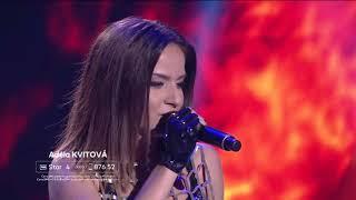 SUPERSTAR - Adéla Kvitová - Edge of glory (Lady Gaga)