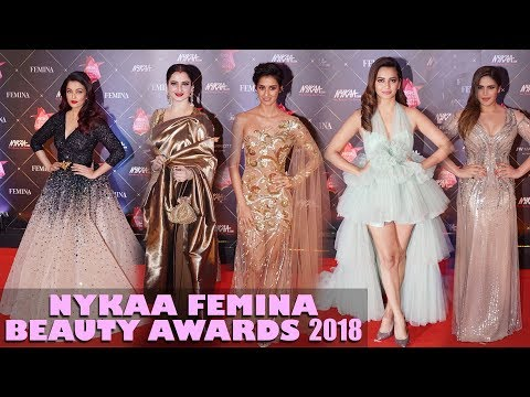 Femina Beauty Awards 2018 - Red Carpet | Rekha, Aishwarya Rai, Disha Patani Among Top Fashionistas