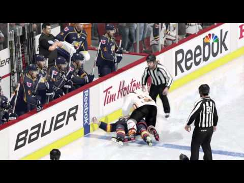 3 Fights in 30 seconds NHL™ 16