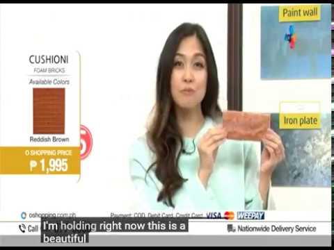 3d Wallpaper 2017 Philippine TV Home Shopping (QONE FoamBlock)