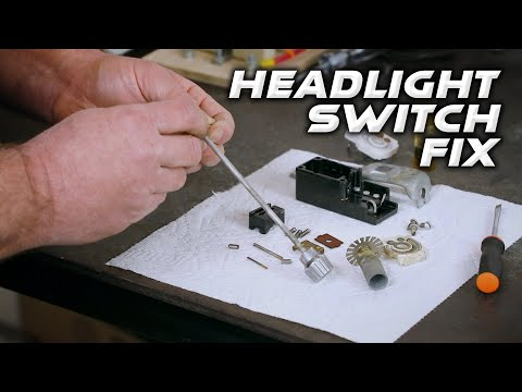 How To Fix the Headlight Switch on a Cadillac