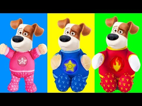WRONG HEADS Secret Life of Pets Turn into Paw Patrol Rescue Pups