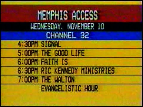 Michael G Strickland - Tight Fit - 7 Originals Plus Gerry Krumm Interview - Memphis CATV 11-10-1982