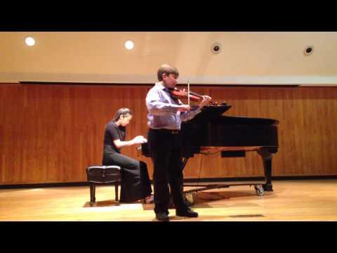 Joseph Breslin Suzuki book 2 violin recital