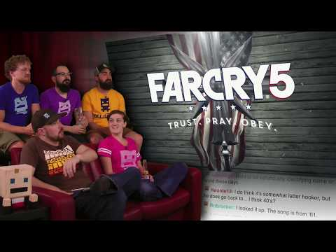 Far Cry 5! | E3 2017 AWESOME!