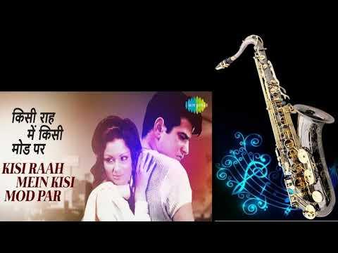 477:- Kisi Raah Mein, Kisi Mod Pe Saxophone Cover  Mere Humsafar Lata & Mukesh