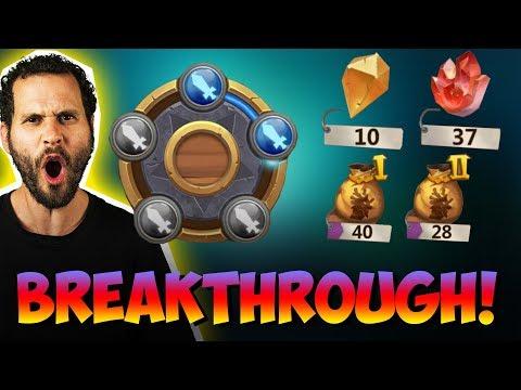 NEW Breakthrough Levels + 4 Lavanicas From BAGS INSANE! Castle Clash