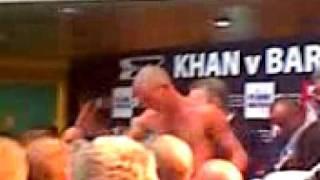 Amir Khan Marco Antonio Barrera Roman Martinez Nicky Cook weigh in Part 3