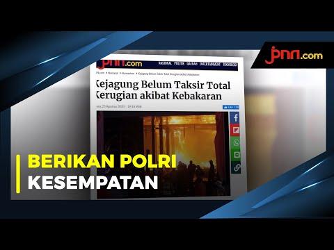 Puan Maharani Ogah Komentari Penyidikan Kebakaran Kejagung Yang Belum Tuntas