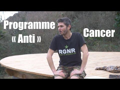 Mon programme 'anti cancer ' ....