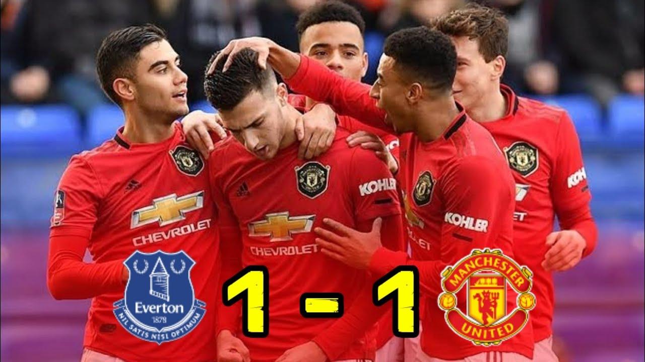 Hasil liga Inggris Malam Ini : Everton (1) vs (1 ...