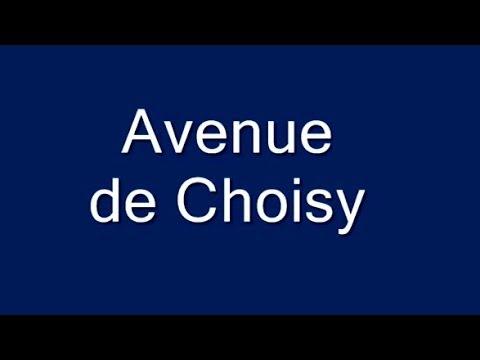 Avenue de Choisy Paris Arrondissement 13e