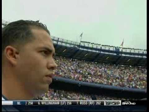 Marc Anthony at The Mets Game