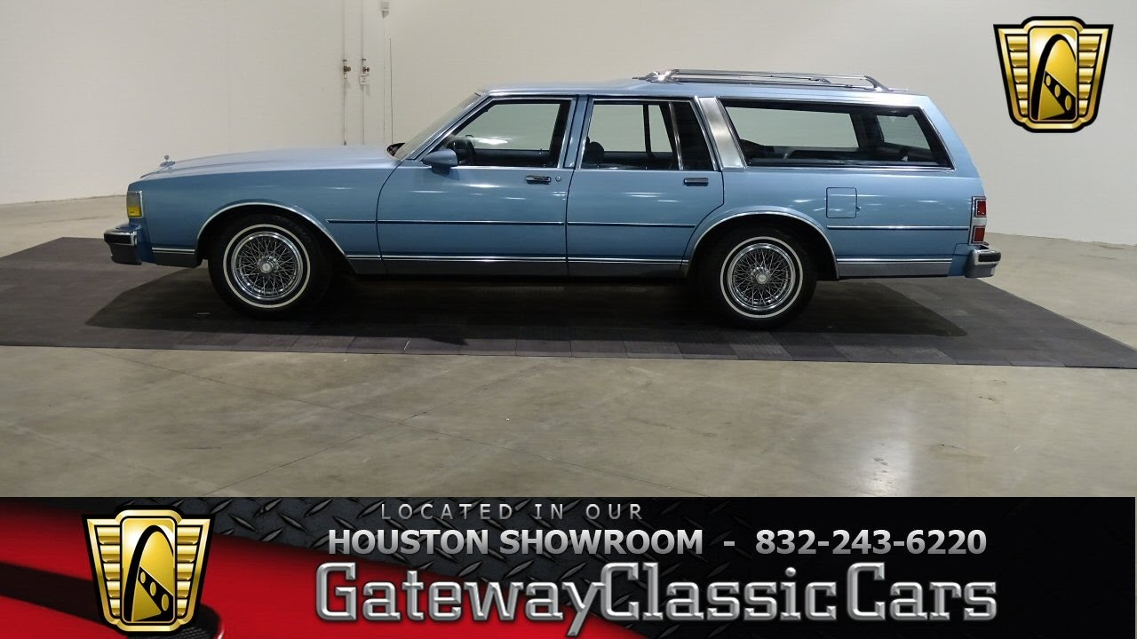 1988 Chevrolet Caprice Classic 582 Hou Gateway Classic Cars Houston