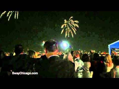 SWAY Chicago @ Navy Pier for Michael & Greg's wedding
