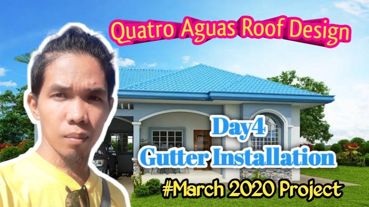 Quatro Aguas Roof Design Colorroof Installation Day 5 7 Youtube