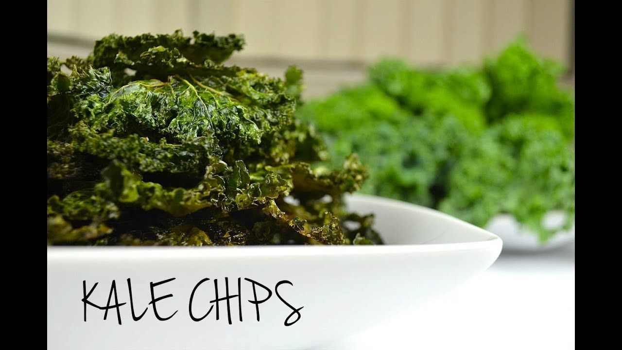 How to Make Crispy Kale Chips HEALTHY SNACKSYouTube