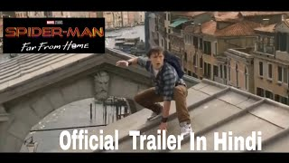 Spiderman far from home official trailer in Hindi | Sony | MARVEL | Tom Holland movie 2019
