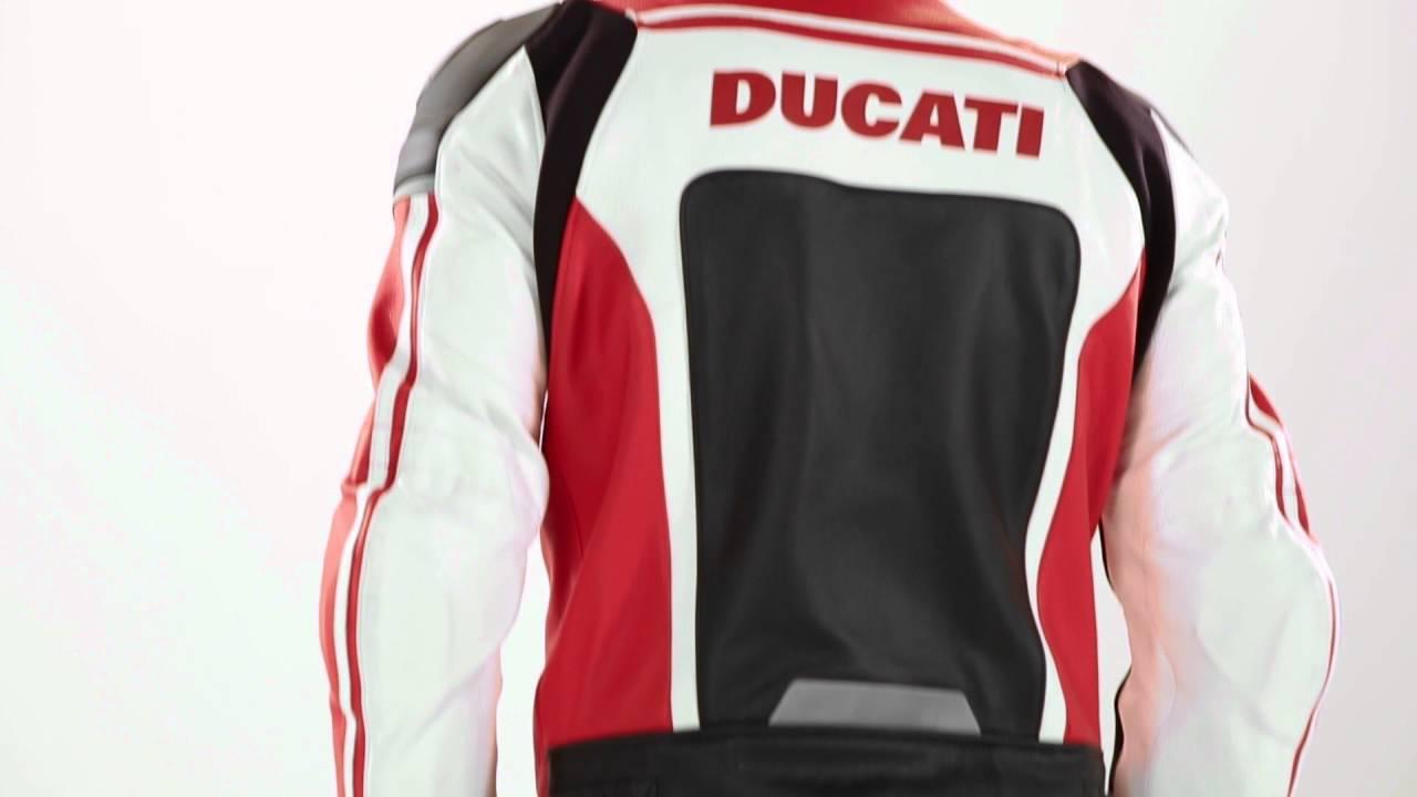 BLOUSON CUIR DUCATI SPORT C2 | S.TEAM MOTOS