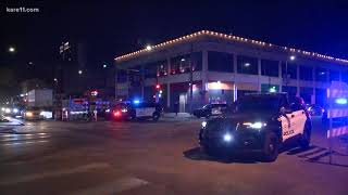 Three injured in overnight shooting downtown