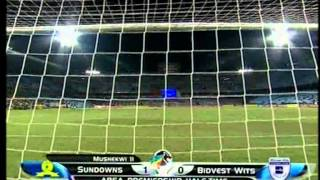absa psl 2011 2012 mamelodi sundowns 1 vs bidvest wits 1
