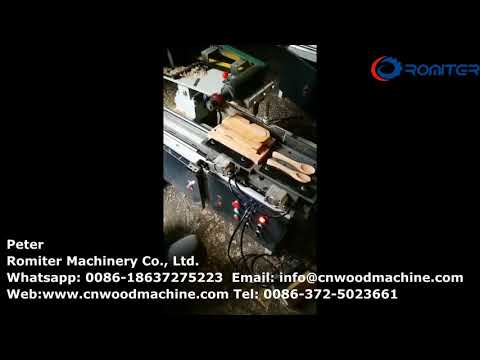 Semi Automatic Wooden Spoon Groove Making Machine for Sale
