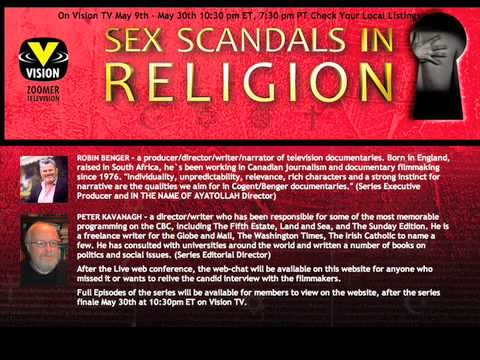 WebChat with Series Producers - Sex Scandals In Religion