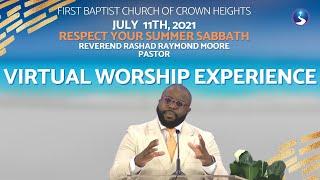 July 11th, 2021: Sunday Morning Worship