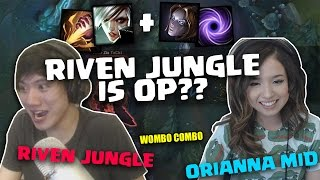 THE TROLLEST DUO | POKIMANE & BOXBOX | JUNGLE RIVEN IS OP!
