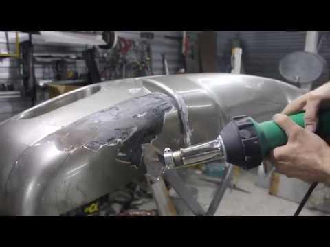 Профессиональный паяльный фен с алиэкспресс для пайки пластика + насадки + пластиковые прутки
