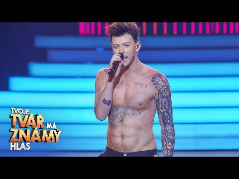 Adam Mik jako Adam Levine  Moves Like Jagger  Tvoje tv m znm hlas