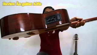 GTGuitarshop guitar review - Ân guitar A25c