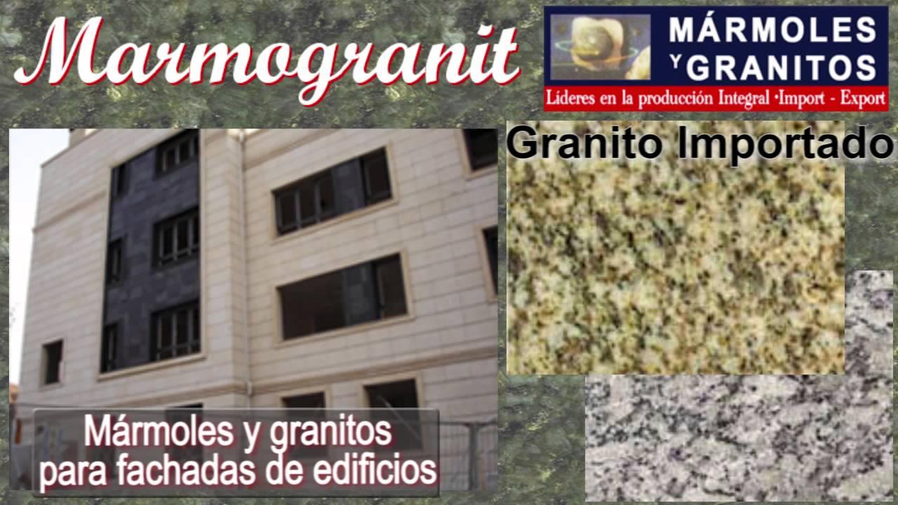 MARMOGRANIT - Marmoles y granitos para fachadas de edificios. - YouTube