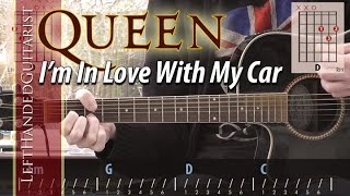 Queen - I'm In Love With My Car guitar lesson
