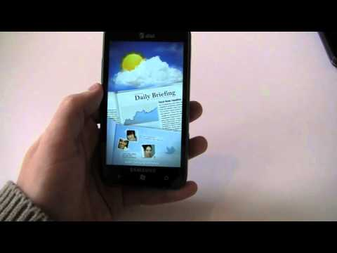 Samsung Focus S Hands-On