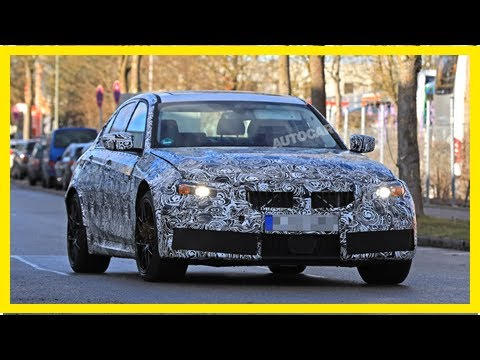 Breaking News | 2020 BMW M3: active rear steering under consideration for 465bhp super-saloon