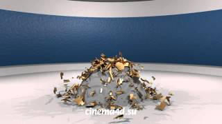 Физическое разрушение объекта в Cinema 4D