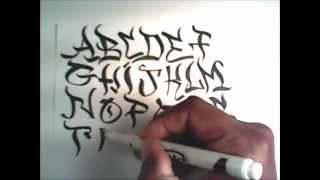 graffiti art how to draw characters for design