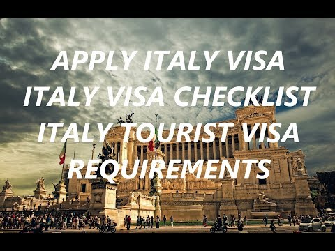 Italy Visa Documents Check list   Italy Visa Requirements for India Citizens