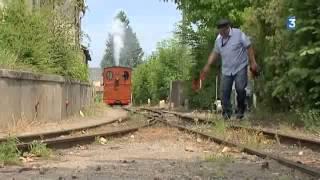 Train touristique à vapeur à Pithiviers