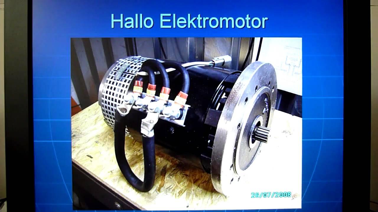 elektromotor 7kw teil 19 pr sentation und t v youtube. Black Bedroom Furniture Sets. Home Design Ideas