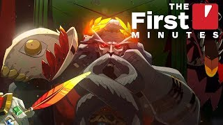 The First 15 Minutes of Hades Gameplay